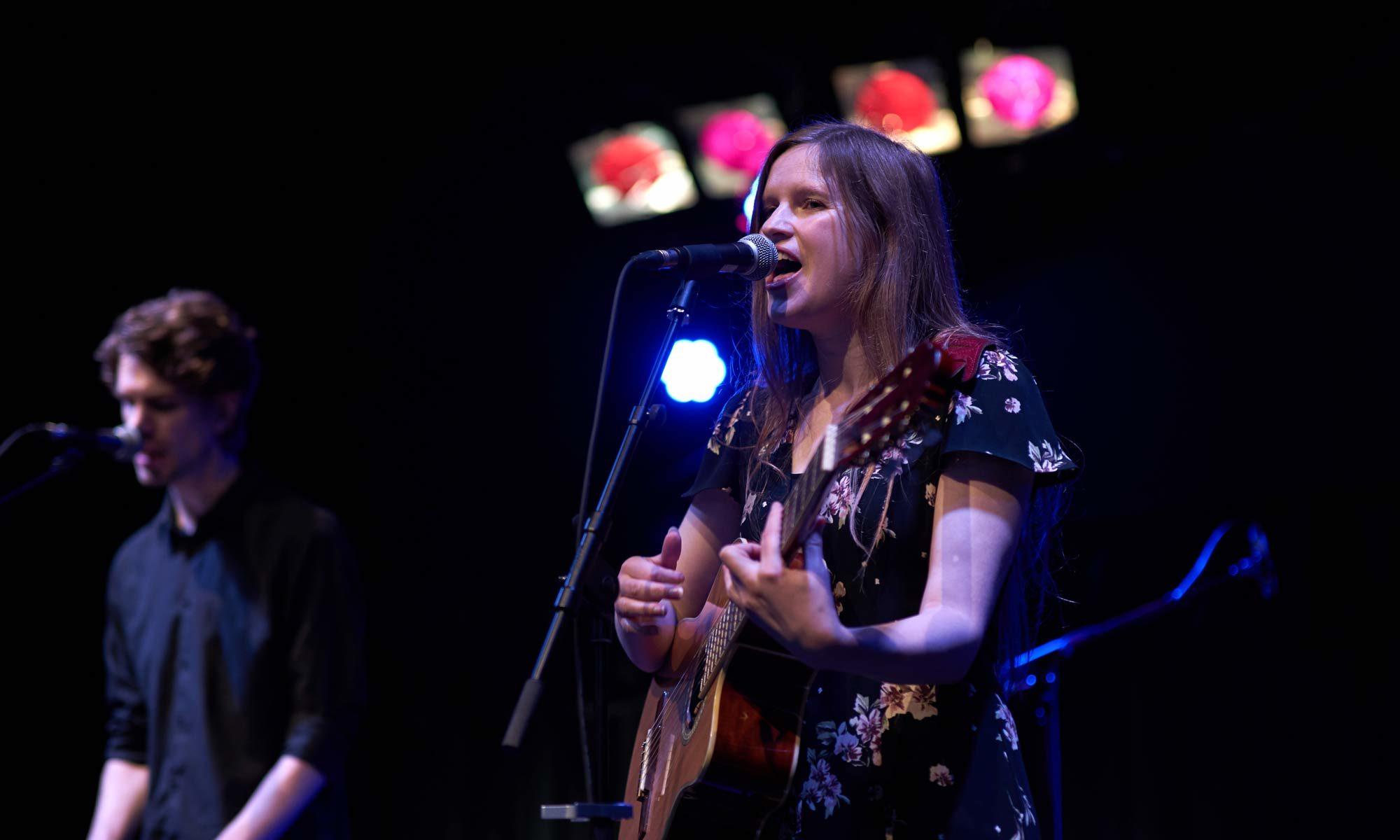 Maaike Siegerist performing live at Colston Hall